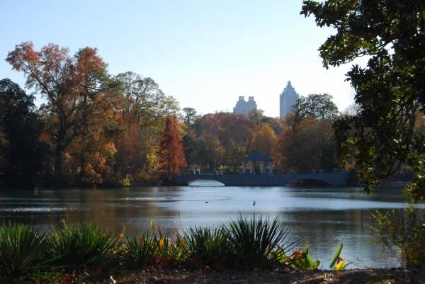 Piedmont Park pond